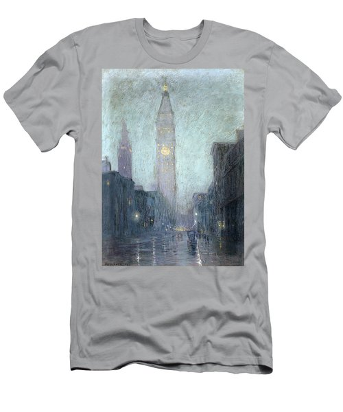 Madison Avenue At Twilight Men's T-Shirt (Athletic Fit)