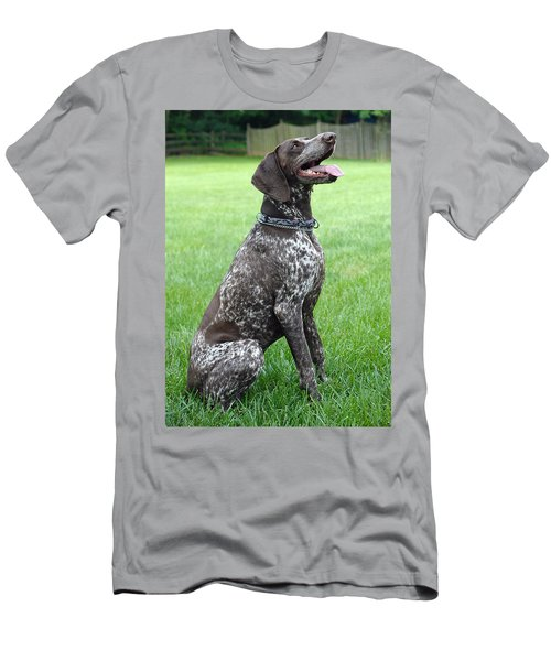 Men's T-Shirt (Slim Fit) featuring the photograph Maggie by Lisa Phillips