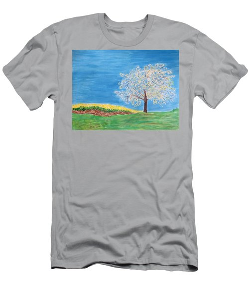 Magical Wish Tree Men's T-Shirt (Athletic Fit)