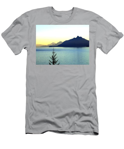 Magnificent Howe Sound Men's T-Shirt (Slim Fit) by Will Borden