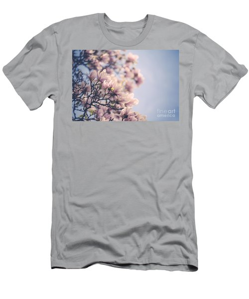 Magnolia Flowers Men's T-Shirt (Athletic Fit)
