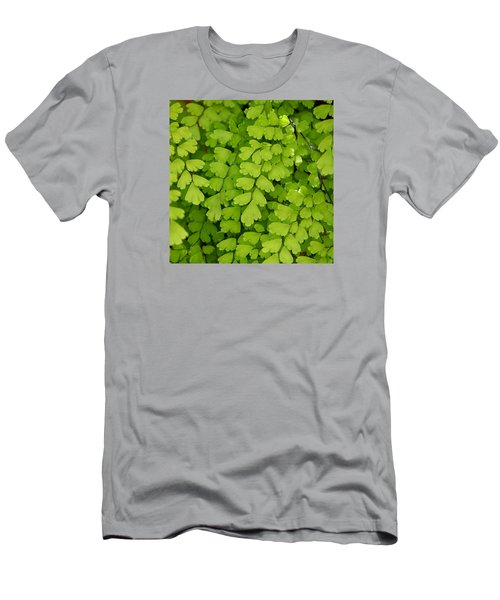 Maidenhair Fern Men's T-Shirt (Slim Fit) by Art Block Collections