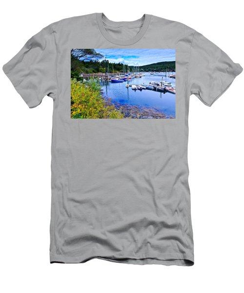 Maine Harbor 2 Men's T-Shirt (Athletic Fit)
