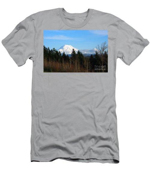 Majestic Mount Rainier Men's T-Shirt (Athletic Fit)