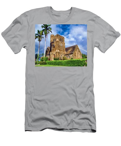 Makawao Union Church 1 Men's T-Shirt (Athletic Fit)