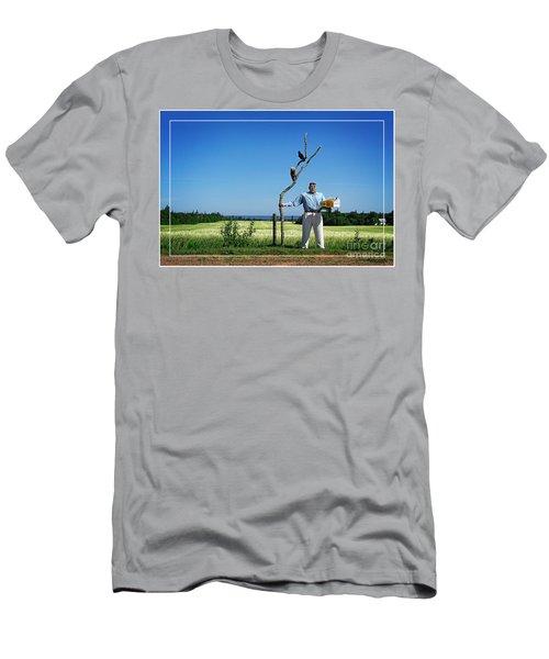 Male Box Man Men's T-Shirt (Athletic Fit)