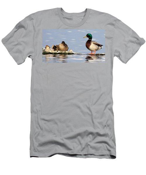 Mallard Family Men's T-Shirt (Athletic Fit)
