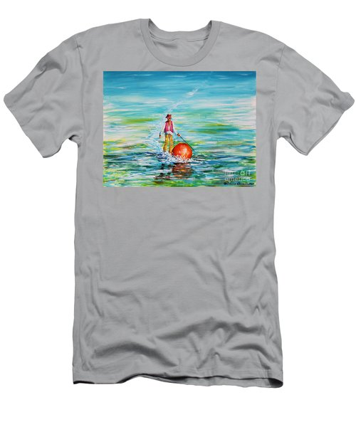 Strolling On The Water Men's T-Shirt (Athletic Fit)