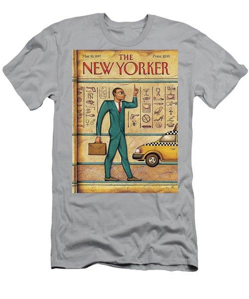 Tuts Taxi Men's T-Shirt (Athletic Fit)