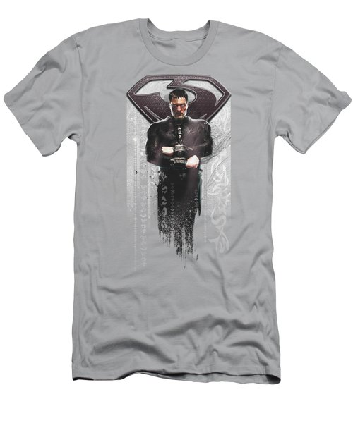 Man Of Steel - Zod Glyphs Men's T-Shirt (Athletic Fit)