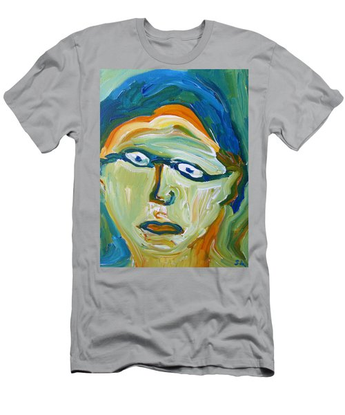 Man With Glasses Men's T-Shirt (Athletic Fit)