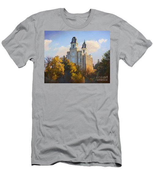 Manti Temple Men's T-Shirt (Athletic Fit)