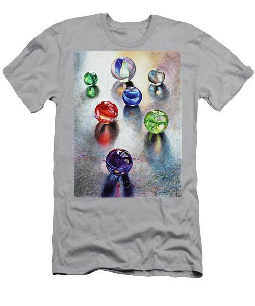 Marbles 1 Men's T-Shirt (Athletic Fit)