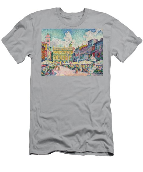 Market Of Verona Men's T-Shirt (Athletic Fit)