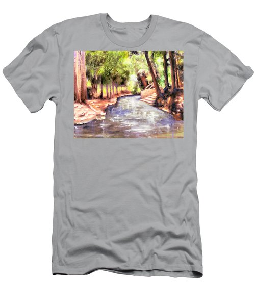 Mataranka Hot Springs Men's T-Shirt (Athletic Fit)