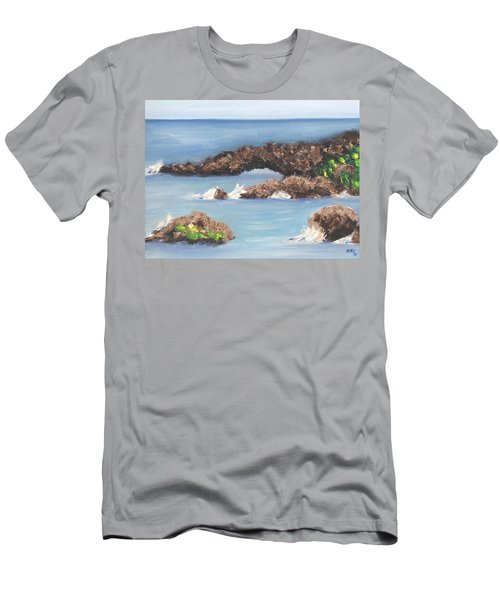 Maui Rock Bridge Men's T-Shirt (Athletic Fit)