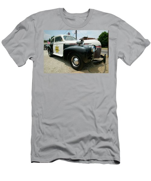 a34cb877 Mayberry Sheriffs Department Police Car Men's T-Shirt (Athletic Fit)