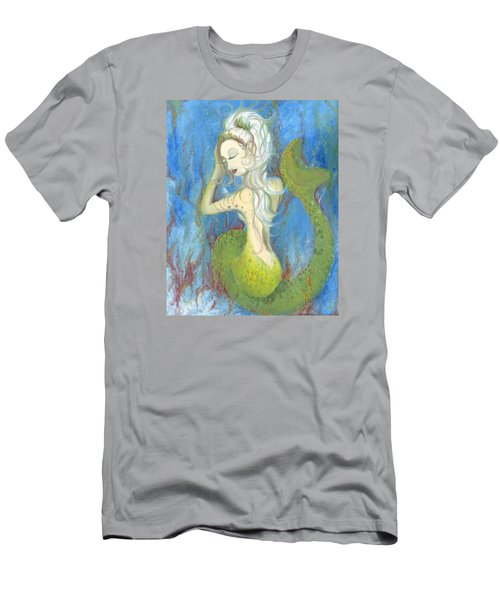Mazzy The Mermaid Princess Men's T-Shirt (Athletic Fit)
