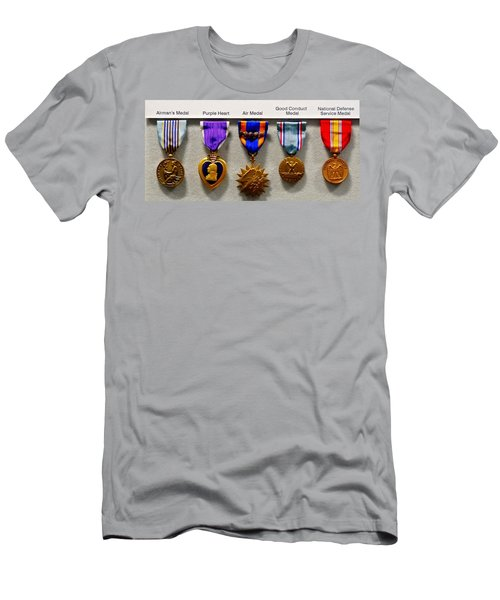Medals Of Valor Men's T-Shirt (Athletic Fit)