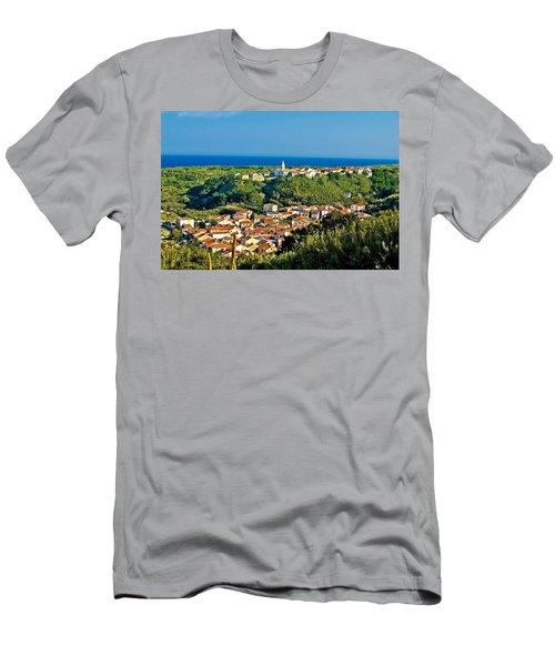 Mediterranean Town Of Susak Croatia Men's T-Shirt (Athletic Fit)