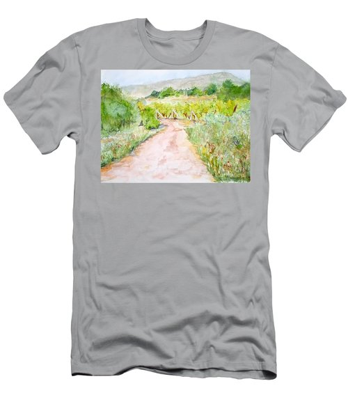 Medjugorje Path To Apparition Hill Men's T-Shirt (Athletic Fit)