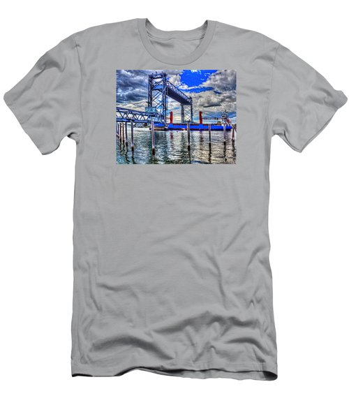 Memorial Bridge 034 Men's T-Shirt (Athletic Fit)