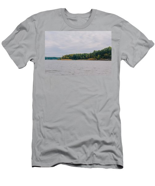 Men Fishing On Barren River Lake Men's T-Shirt (Athletic Fit)