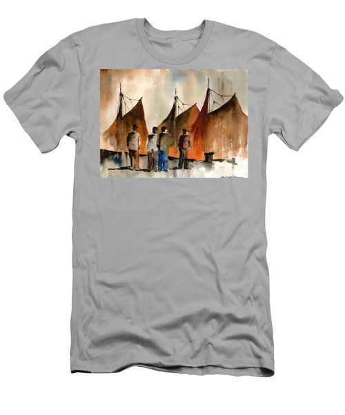 Men Looking At Hookers  Galway Men's T-Shirt (Athletic Fit)