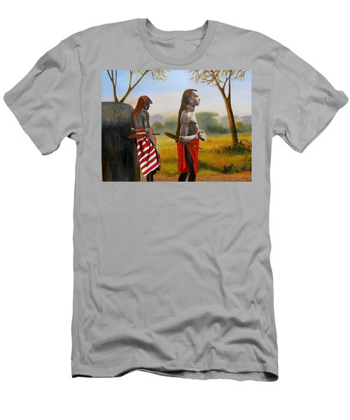 Men Of The Maasai Men's T-Shirt (Athletic Fit)