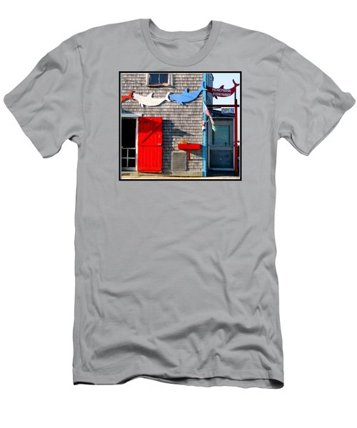 Menemsha Fish Market 3 Men's T-Shirt (Athletic Fit)