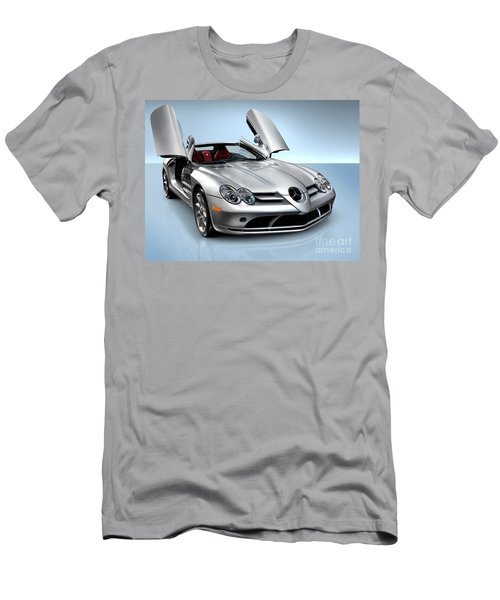 Mercedes Benz Slr Mclaren Men's T-Shirt (Athletic Fit)