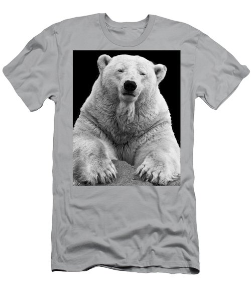 Mercedes The Polar Bear Men's T-Shirt (Athletic Fit)