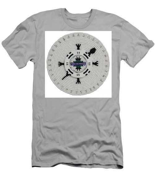 Meskwaki White Men's T-Shirt (Athletic Fit)