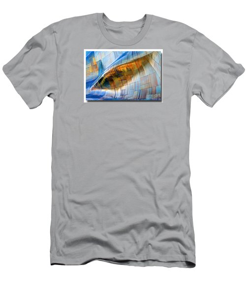 Men's T-Shirt (Slim Fit) featuring the photograph Metal Wave by Chris Anderson