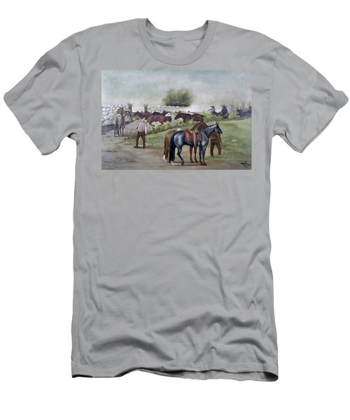 Mexico Cowboys, 1916 Men's T-Shirt (Athletic Fit)