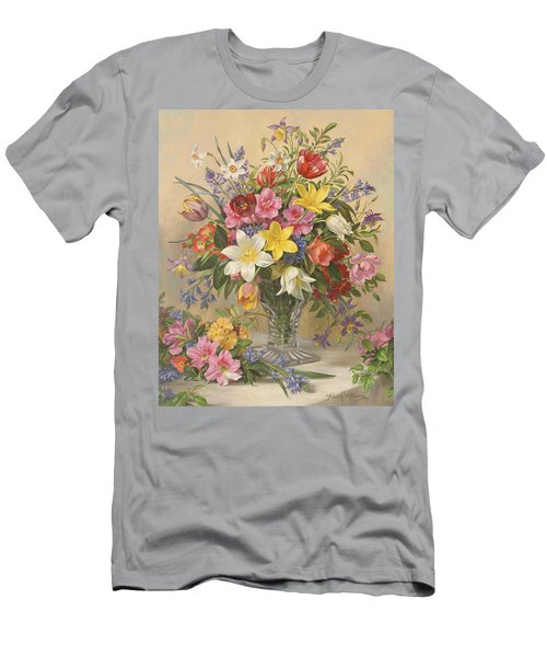 Mid Spring Glory Men's T-Shirt (Athletic Fit)