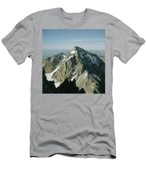 T-209207-middle Teton From Grand Teton Men's T-Shirt (Athletic Fit)