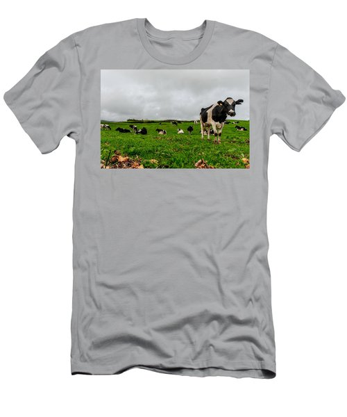 Milk Nature Nose Men's T-Shirt (Athletic Fit)
