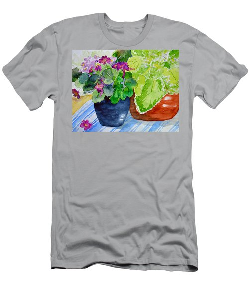 Mimi's Violets Men's T-Shirt (Athletic Fit)