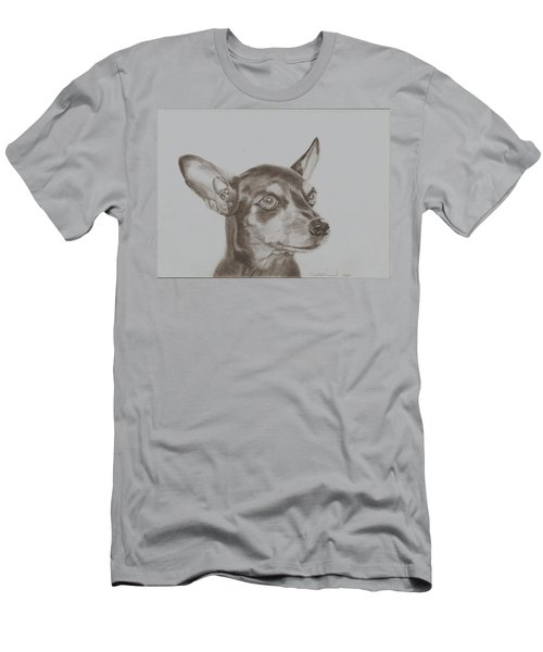 miniature pinscher Tronter Men's T-Shirt (Athletic Fit)