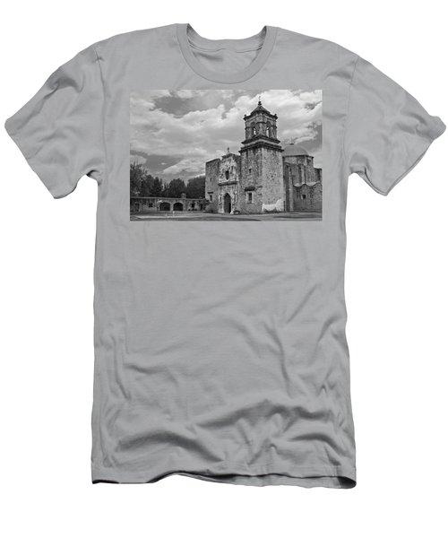 Mission San Jose Bw Men's T-Shirt (Athletic Fit)