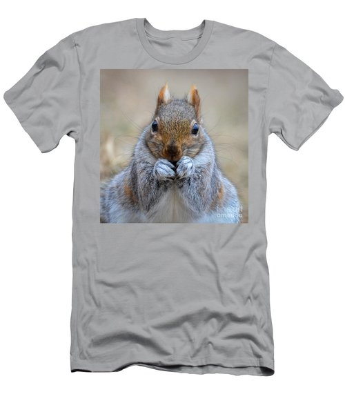Mister Whiskers Men's T-Shirt (Slim Fit) by Amy Porter