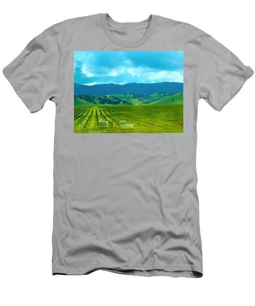 Mobile Transport Men's T-Shirt (Athletic Fit)
