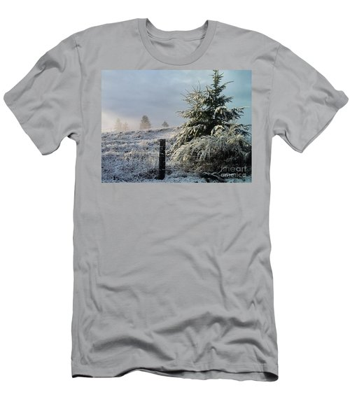 Moment Of Peace Men's T-Shirt (Slim Fit) by Rory Sagner