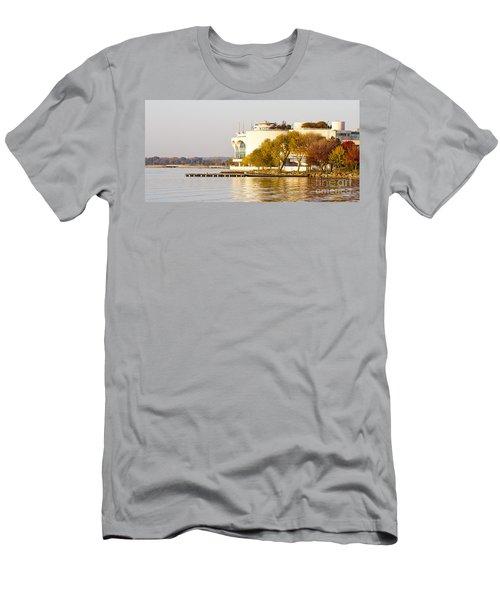 Monona Terrace Men's T-Shirt (Athletic Fit)