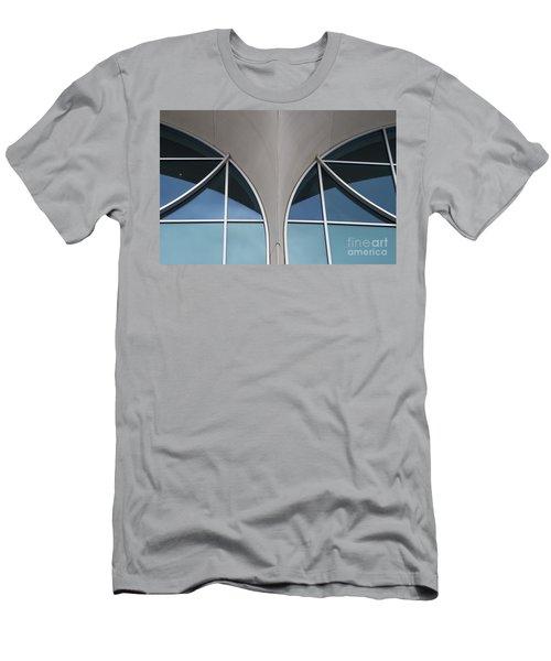 Monona Terrace Windows Men's T-Shirt (Athletic Fit)