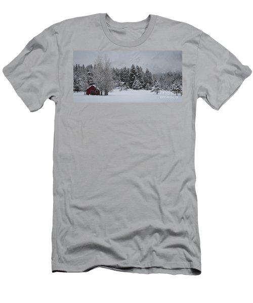 Montana Morning Men's T-Shirt (Slim Fit) by Diane Bohna