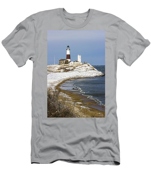 Montauk Snow Men's T-Shirt (Athletic Fit)