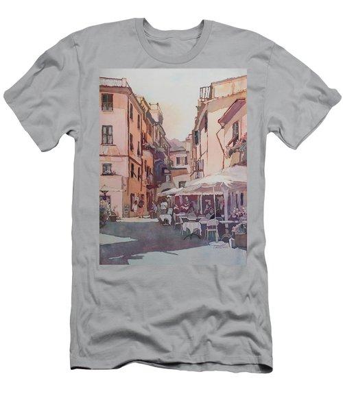 Monterosso Cafe Men's T-Shirt (Athletic Fit)