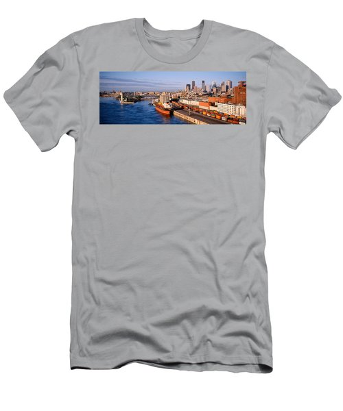 Montreal, Quebec, Canada Men's T-Shirt (Athletic Fit)